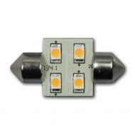 Led 12-24 volt vervangingslamp Festoon 31mm